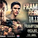 Watch Frampton vs Garcia and Jerwin Ancajas vs Jamie Conlan Live on BoxNation