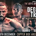 Full Fight Video: James DeGale vs Caleb Truax, Lee Selby vs Eduardo Ramirez, Anthony Yarde Replays