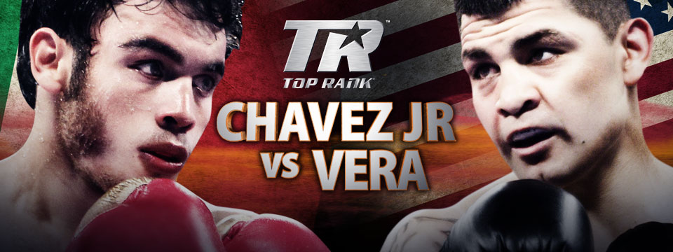 Julio Cesar Chavez Jr. vs. Brian Vera Poster