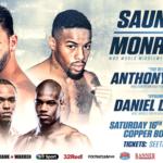 Watch Billy Joe Saunders vs Willie Monroe Jr, Anthony Yarde Live on Box Nation