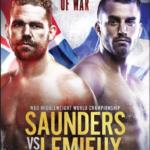 LIVE World Championship Boxing Billy Joe Saunders vs David Lemieux on HBO