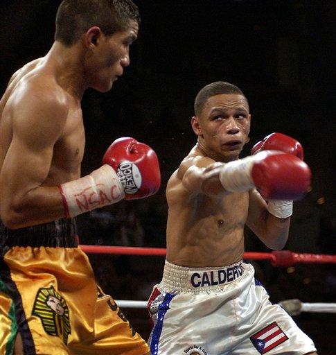 Little Respect Calderon Boxing
