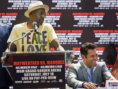 Marquez Mayweather Boxing