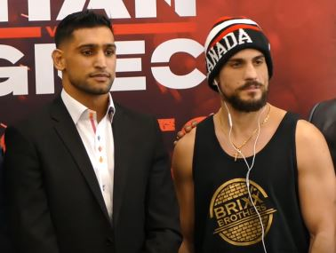 Is Phil Lo Greco a tune up bout for Amir Khan?