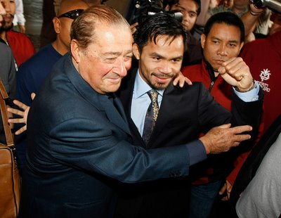 Bob Arum with Pacquiao