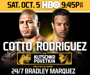 Cotto vs. Rodriguez HBO