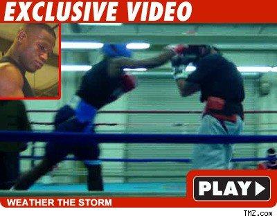 Floyd Mayweather TMZ sparring