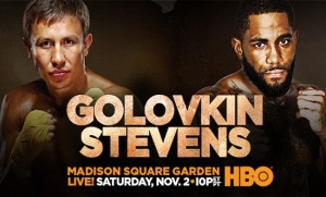 GennadyGolovkinvsCurtisStevensPoster