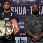 Anthony Joshua stops Carlos Takam in round 10 to retain IBF and WBA heavyweight titles