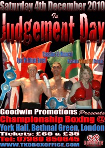 JUDGEMENT DAY POSTER