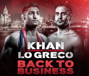 Watch Amir Khan vs Phil Lo Greco Welterweight Live Stream on NowTV