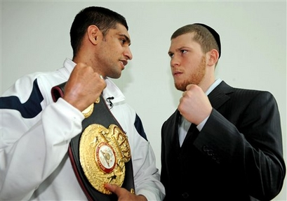 Britain Boxing Khan Salita