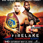 Unbeaten Gibbs to meet Perry May 21 at Firelake Casino in OK