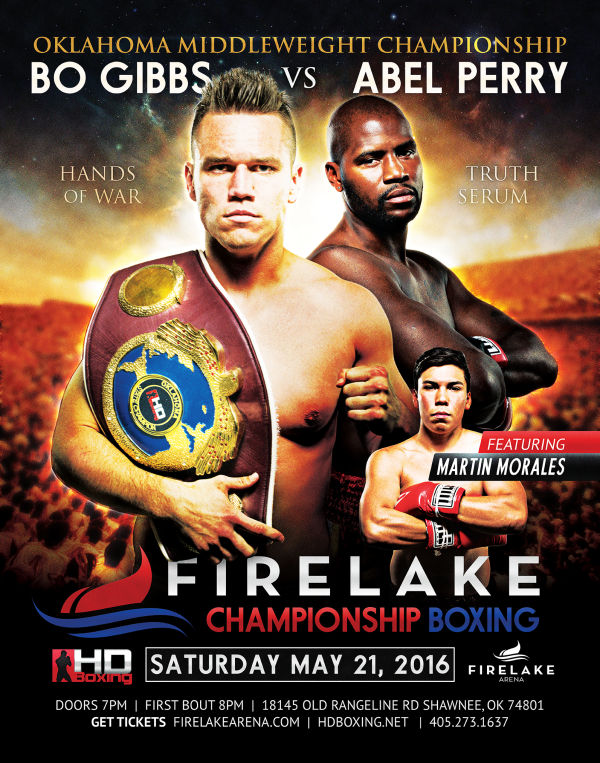 May 21 Fight Poster