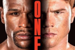 Mayweather Canelo The One Poster