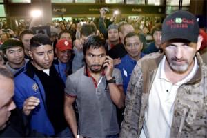 Pacquiao fans in LA