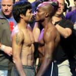 Photo: Manny Pacquiao's body looks weak and flat, Bradley looks ripped and muscular