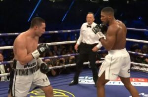 Live Results: Anthony Joshua beats Joseph Parker by Unanimous Decision