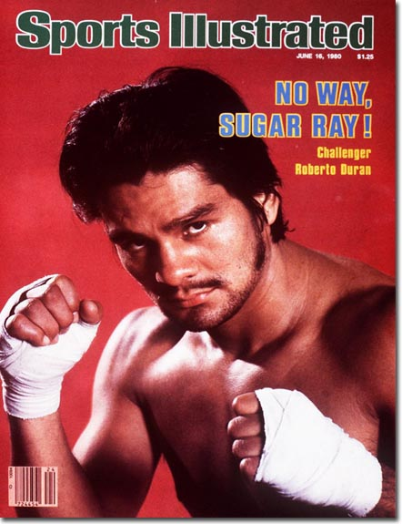 Roberto Duran Sports Illustrated Cover