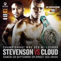 Stevenson vs. Cloud poster