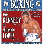 Fight Weekend around Philly Part 2: Teon Kennedy Continues his road to a Title Shot
