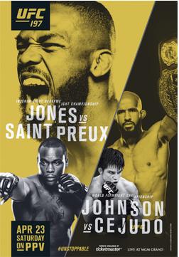 UFC197JonesvsSaintPreuxPoster