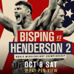 UFC 204: Bisping vs. Henderson 2 Live on YouTube Video Stream