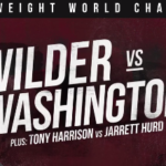 Live Free Heavyweight Championship Boxing: Deontay Wilder vs Gerald Washington