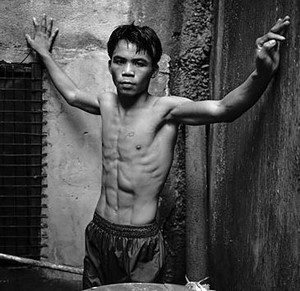 Young Manny Pacquiao