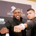 Quotes from Wednesday's 'East-West Showdown' kickoff press conference for Andre Berto vs. Victor Ortiz