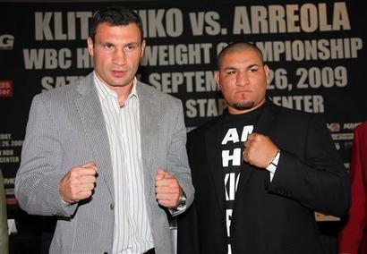 WBC Klitschko Arreola Boxing