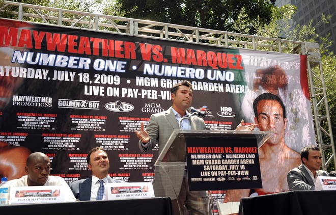 BOXING-US-MEXICO-MAYWEATHER-MARQUEZ